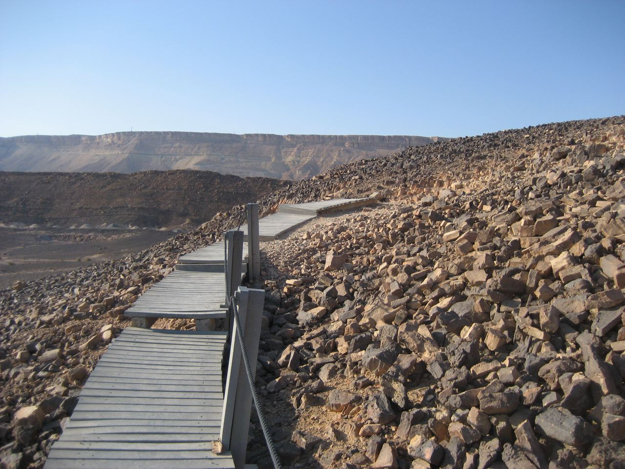 Dry Dock in Mitzpeh Ramon