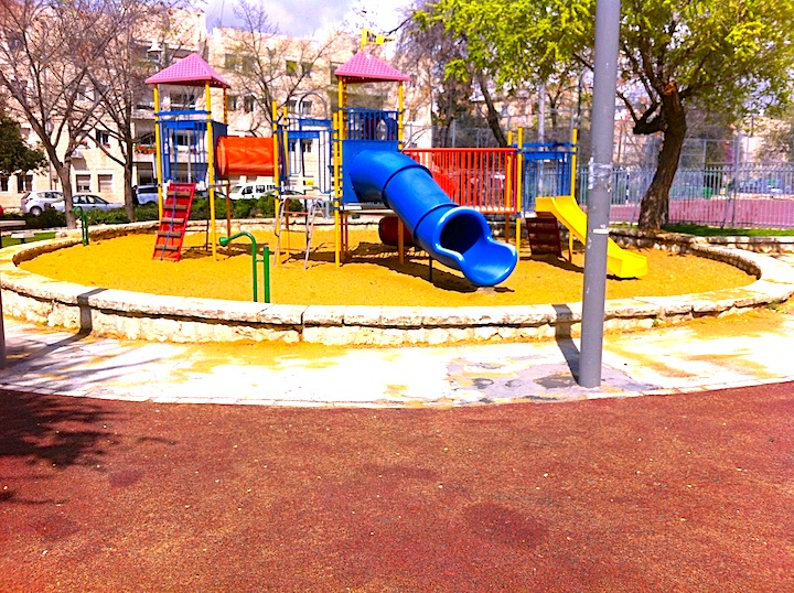 a park in Jtown